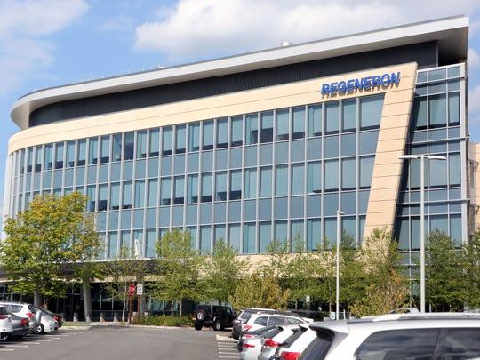 The north campus of Regeneron, a biopharmaceutical