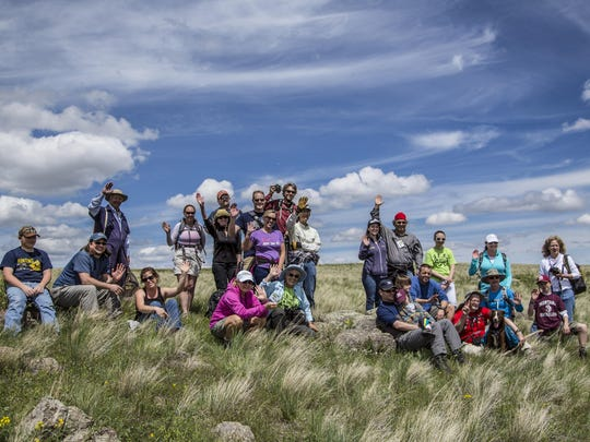 One of the hikes on National Trails Day is to Square