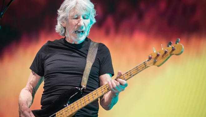 Roger Waters performs at Gila River Arena in Glendale on the Us & Them Tour on Wednesday, June 14, 2017.