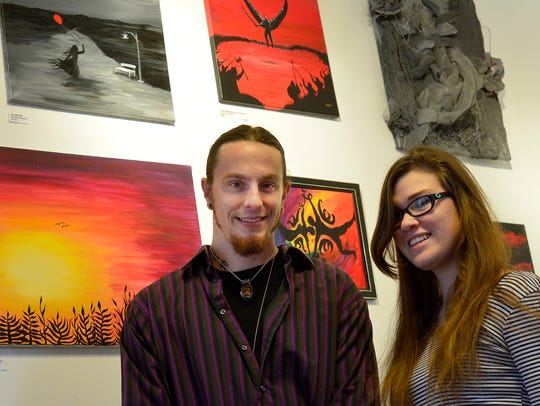 Dustin Nispel and Carrie Peck of The Rooted Artist