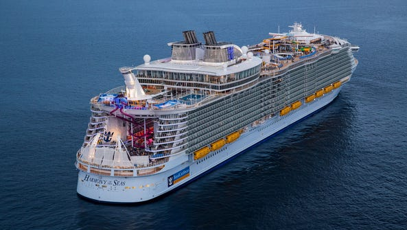 Harmony of the Seas adds everything present on its