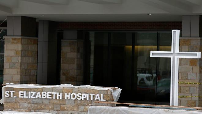 St. Elizabeth Hospital's new Fremont Tower on December 9, 2014, in Appleton, Wis. Wm.Glasheen/P-C Media