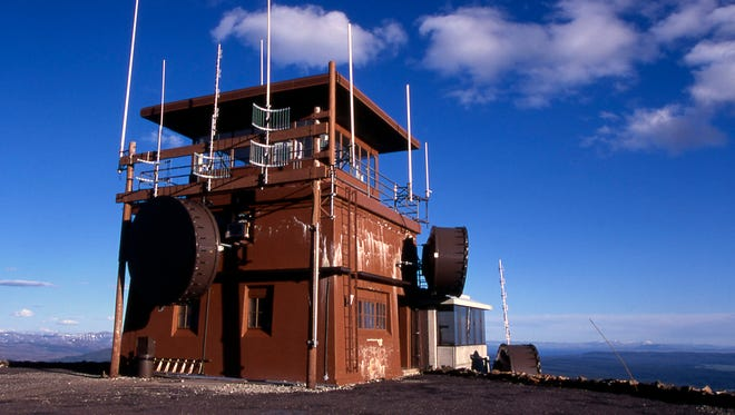 """Yellowstone National Park officials say telecommunications equipment proposed for the Mt. Washburn Fire Lookout would have an """"adverse effect"""" on the character of the historic site."""