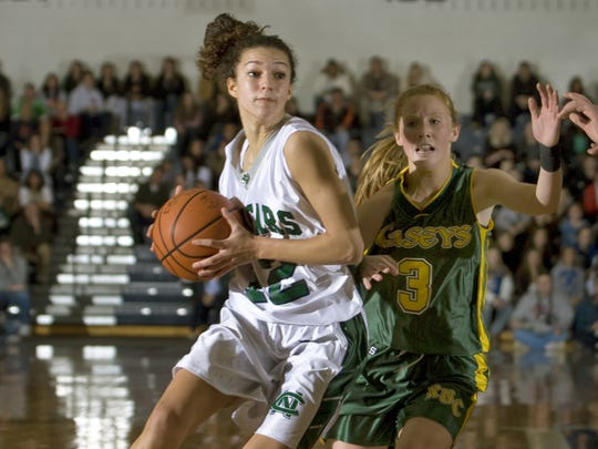 Colts Neck's Brooke Hampton scored 1,670 points and