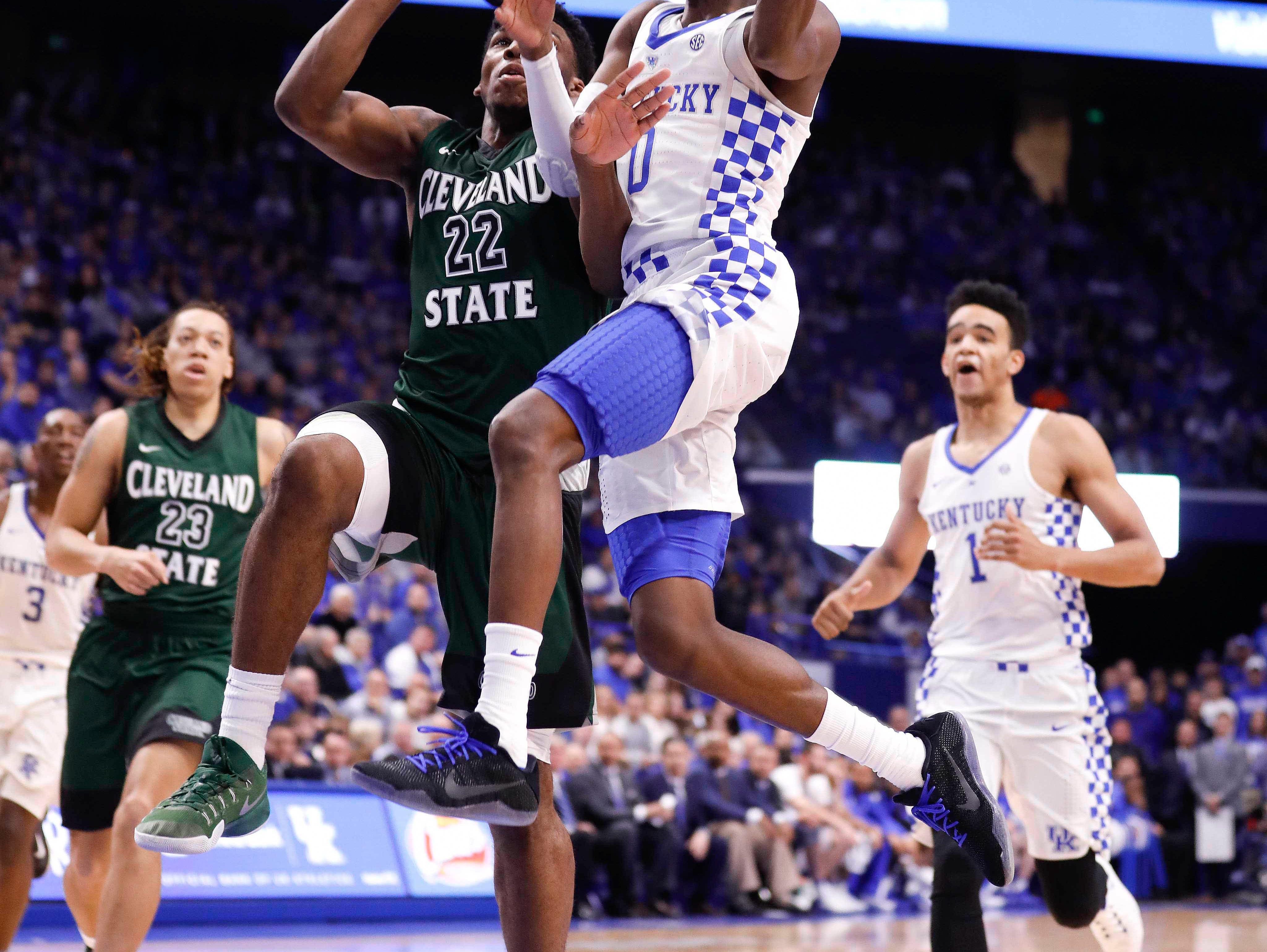 Malik Monk And De Aaron Fox Usa Today All Americans: UK Guards A Lesson In Chemistry