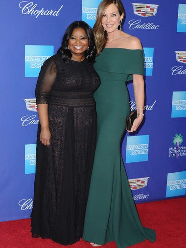 'The Help' stars Octavia Spencer and Allison Janney'