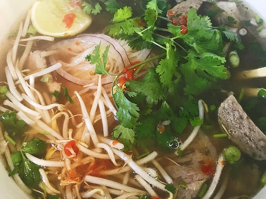 Eating #pho for the first time! 🍜🍲Super delicious! simplygary #vivacc #eatlocal #pholife… instagram.com/p/BXnuKRYn0U1/