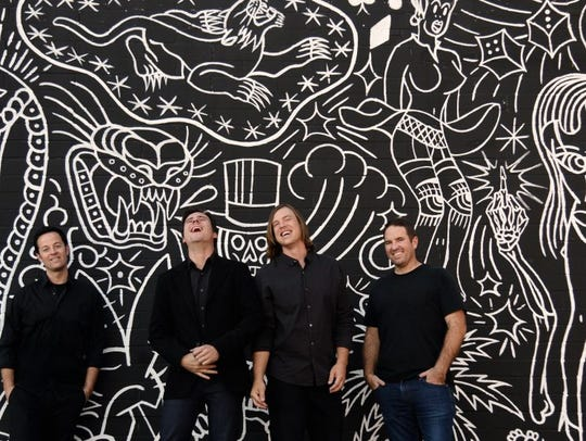 Jimmy Eat World plays downtown's New Daisy on Sunday.