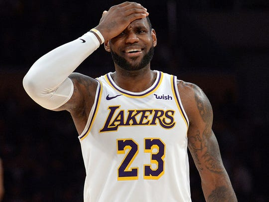 LeBron James is done for the season.