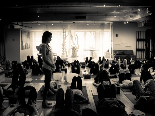 Elena Brower will lead a workshop at Satsang Yoga in