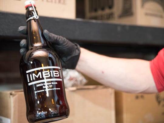 IMBĪB Custom Brews on East Second Street features a taproom that can be used for events, often without charge.