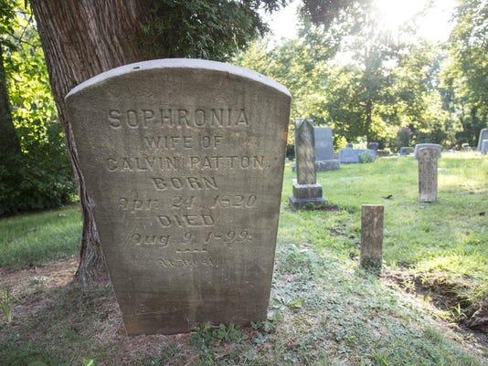 Piney Grove cemetery A8 secondary