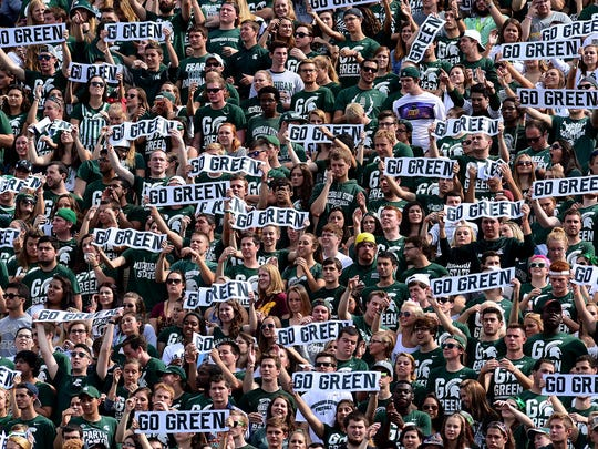 This is the golden age for Michigan State athletics, the era MSU football fans only dreamed of for decades. But now that it's here, are they really happy?