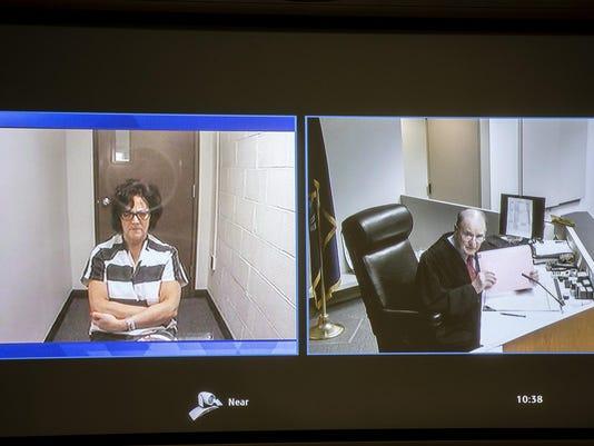 Yvonne Helen Cortis is arraigned