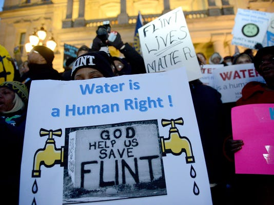 Flint Water Protest