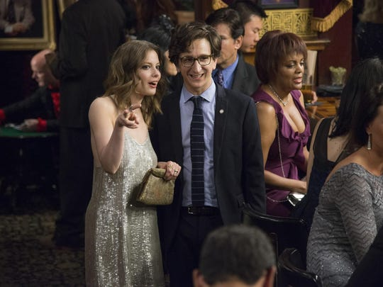 "Gillian Jacobs and Paul Rust are seen in ""Love."""