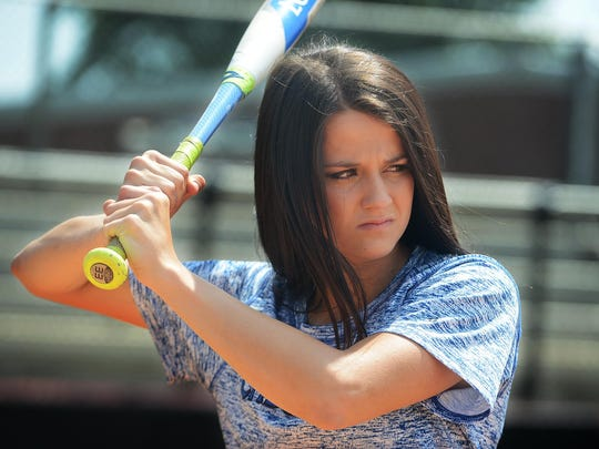 Chester County's Baylee Smith batted .574 this season for the Eaglettes.