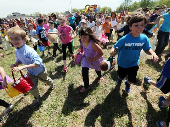The cities of Smyrna and La Vergne will host egg hunts Saturday. Bring your own bag or basket.