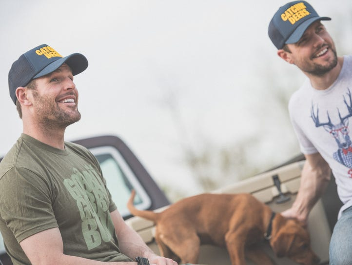 Predators forward Mike Fisher (left) and his younger