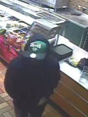 The Greenville County Sheriff's Office released photos in connection with an armed robbery at Subway on White Horse Road.