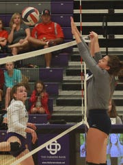 Creek wood's Olivoa Wesson spikes against Portland