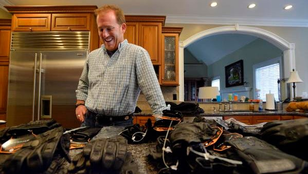 Scott McDaniel, founder of StrongSuit, which makes tactical gloves for law enforcement, says feedback from a sheriff in Bounder County, Colo., helped him refine his products.