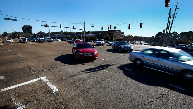 The Shady Grove/Ridgeway Business Owners Association hopes to make the area near Regalia Shopping Center off Poplar Avenue more pedestrian friendly by adding a crosswalk.