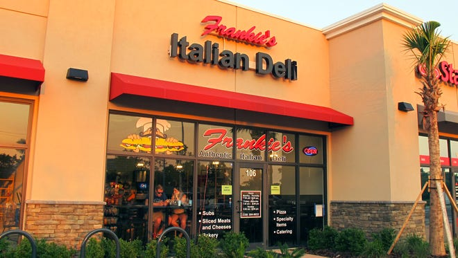 Frankie's Italian Deli launched in April at 6654 Collier Blvd., near the Walmart Supercenter south of U.S. 41 East in East Naples.