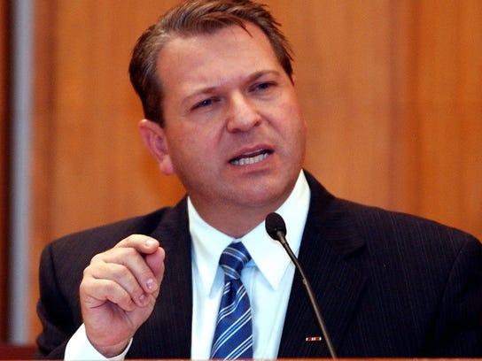 Republican Rocky Raczkowski.