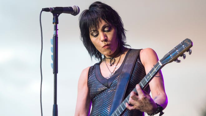 Thousands of people turned out for the first day of Spiedie Fest  to hear Joan Jett & The Blackhearts.