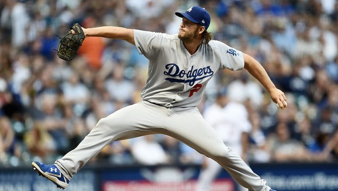 The Brewers faced Clayton Kershaw twice during the regular season.