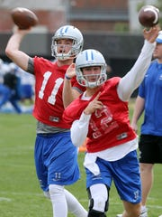 A.J. Erdely, left, and Brent Stockstill