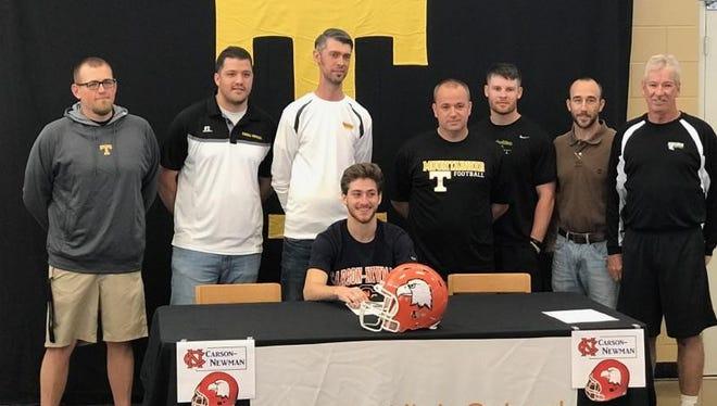 Tuscola senior Roman Jenkins has signed to play college football for Carson-Newman (Tenn.).