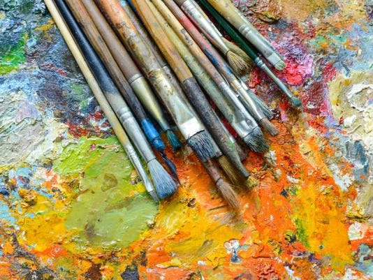 art photo brushes and paint