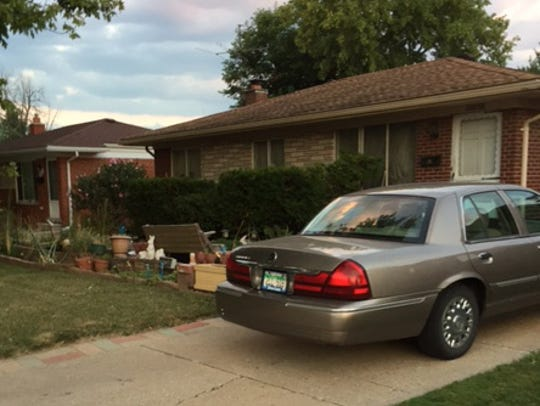 The Clinton Township home listed in public records