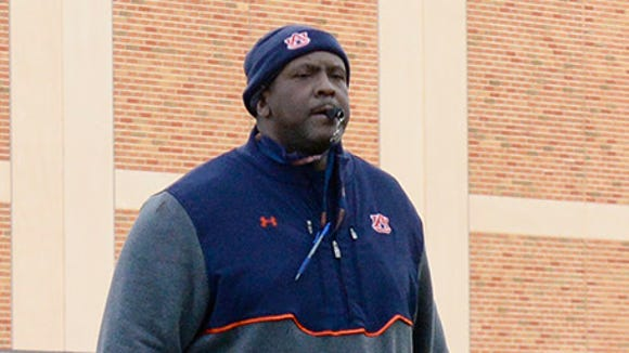 Defensive line coach Rodney Garner knows replacing Dee Ford will be a tough task for the Auburn defense.