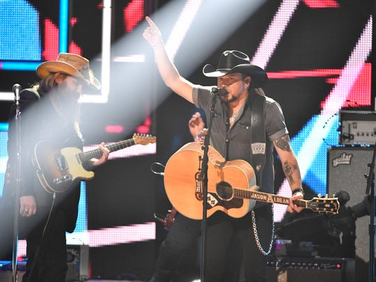 Jason Aldean, one of the 2017 CMT Artists of the Year