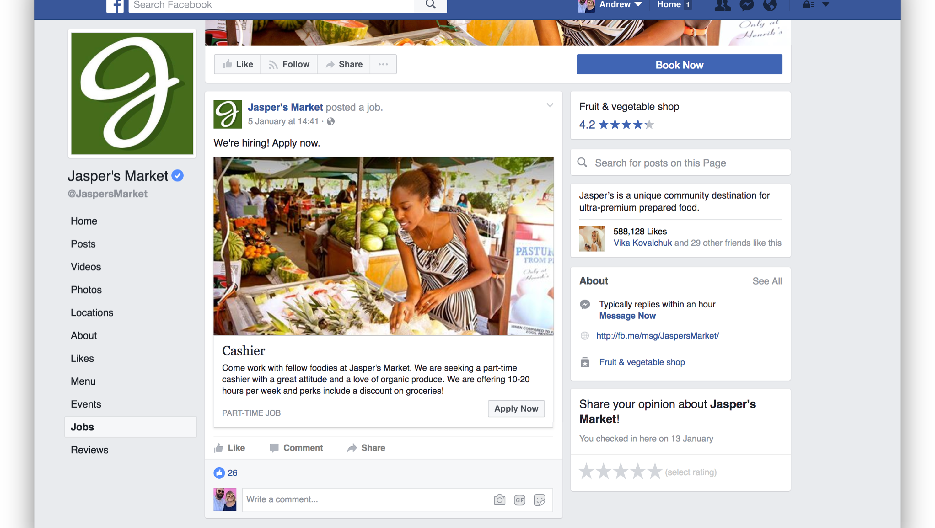 Facebook wants you to apply for your next job on facebook falaconquin