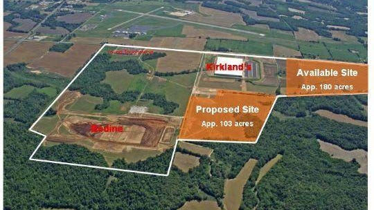 The Airport Industrial Park is the premier industrial property in Jackson-Madison County.