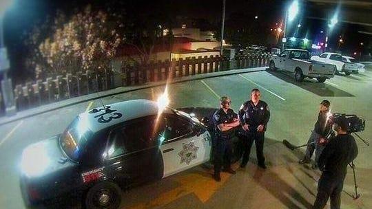 """La policía de Salinas en grabaciones del programa """"Cops."""""""