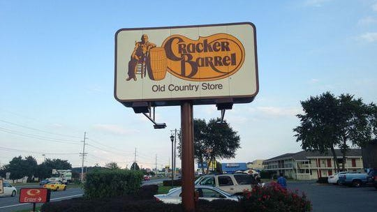 The Cracker Barrel Old Country Store in Rehoboth Beach, Del.