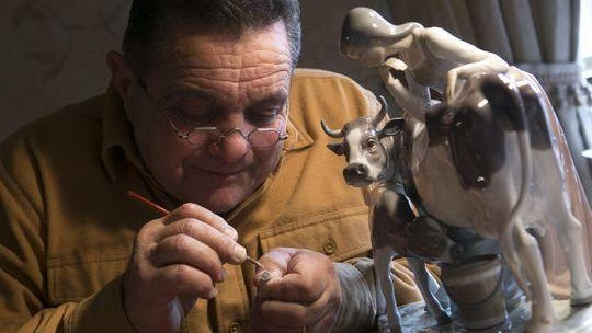 Louis Pirrello does porcelain and china restoration as Restorations by Louis.