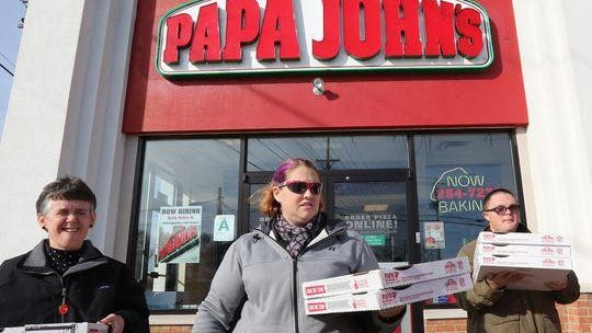Three owners have closed 36 Papa John's locations for Labor Day.