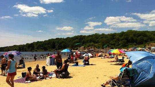 Lake Welch on a late June weekend.