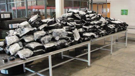 Over 400 pounds of marijuana was seized by border protection officers June 19, 2020.