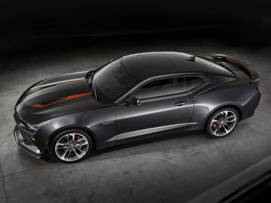 The 2017 Camaro 50th Anniversary Special Edition is