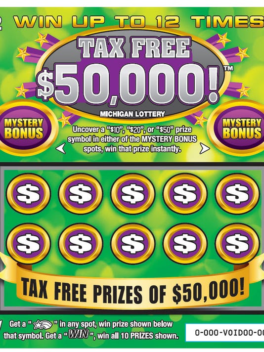 New Tax Free Michigan Lottery Tickets On Sale Today
