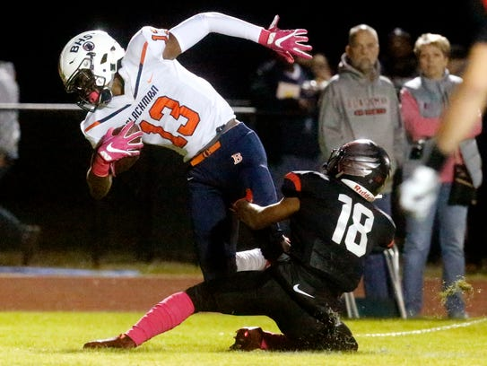 Blackman's Trey Knox (13)