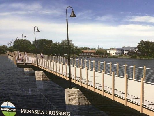 Menasha trestle crossing