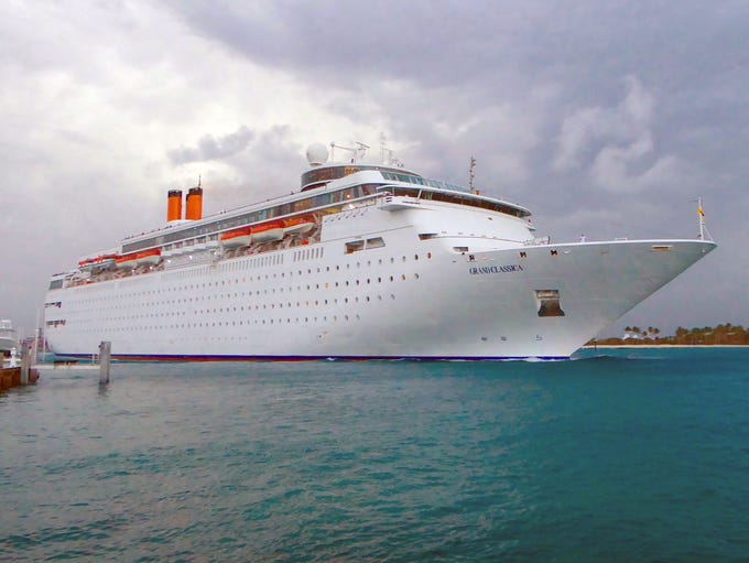 Bahamas Paradise Cruise Line's 1,680-guest Grand Classica
